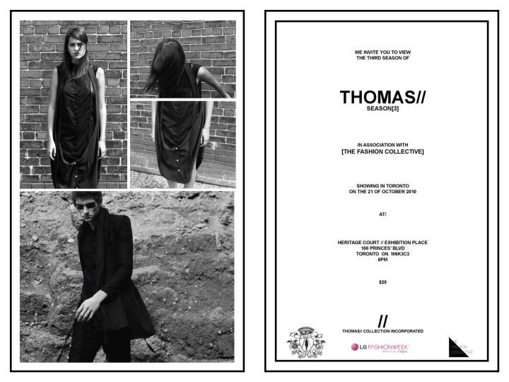 Thomas Collection Invite