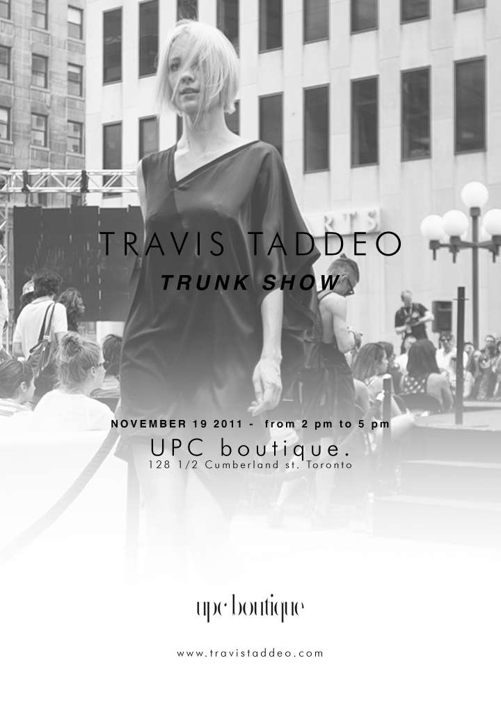 Travis Taddeo Trunk Show